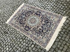 PERFECT PERSIAN NAIN 160x90cm with seide - hand made
