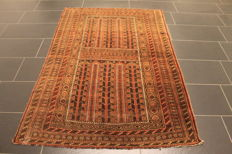 Hand-knotted Persian collector's carpet, Belutsch, rug, made in Iran, 120 x 180 cm