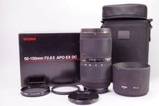 Sigma AF 50 - 150mm f/2.8 II APO HSM EX (voor Sony A)