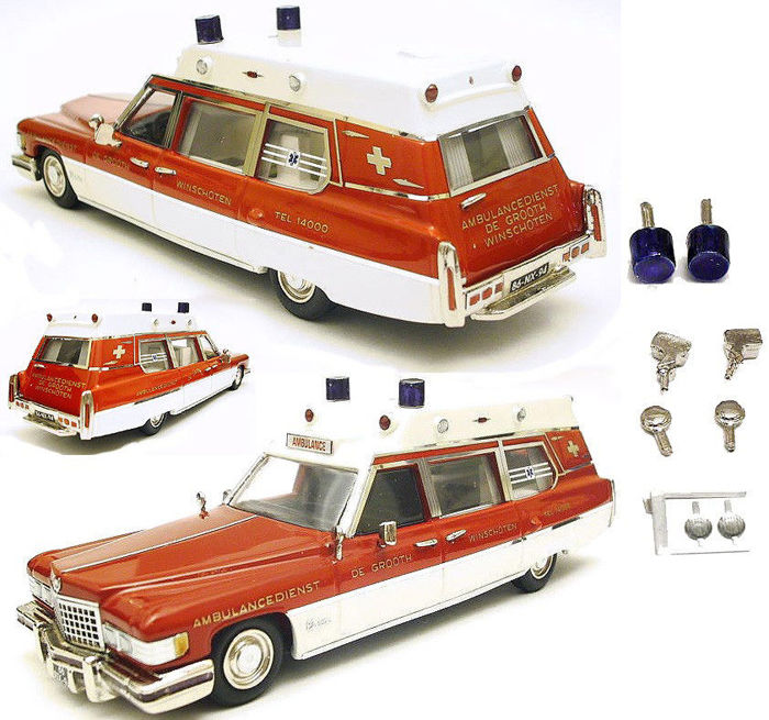 HHS - 1:43 - Cadillac Ambulance - Trousse