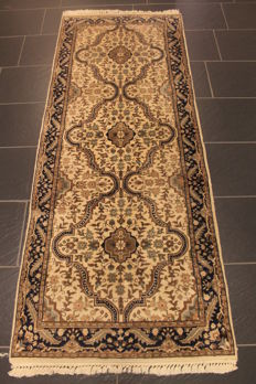 Oriental carpet - Indo Nain - runner - 80 x 200 cm - made in India - end of the last century