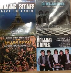 Rolling Stones LP collection || 4 LP's || Limited editions || Coloured vinyl