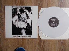 Lp The Rolling Stones Live Hyde Park , England 1969 , Colored Vinyl White , Unofficial Releaese