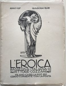 L'Eroica Issues 82-83 year 1924 of the Collection Fondo Ettore Cozzani