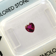Rubin - 0.55 ct - No Reserve Price