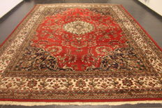 Oriental carpet - Indo Qom, 310 x 420 cm, made in India, end of the last century