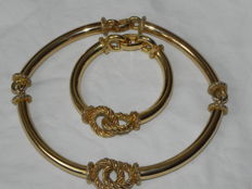 Henkel & Grosse – Pforzheim Christian Dior manufacturer collier and bracelet