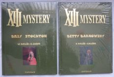 XIII Mystery luxe 6 + 7 - Billy Stockton + Betty Barnowsky - 2x Linnen hc - 1e druk (2013/2014)