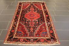 Persian carpet, Malayer, 120 x 190 cm, made in Iran, old rug, collector's item