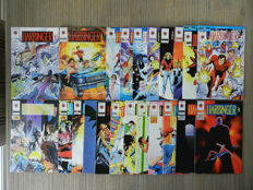 Harbinger Vol.1 # 0-30 + The H.A.R.D. Corps # 1-19 & 24 + Rai / Rai and the Future Force Vol.1 # 0-22 & #6 (signed) - 75x sc - (1992 / 1994)