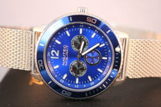 Nautec No Limit Glacier 'Steel Blue' -- Men's Wristwatch