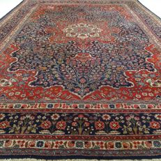 "Tabriz – 350 x 240 cm – ""XL Persian carpet – Eye-catcher in beautiful condition""."