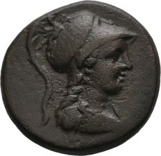 Greek Antiquity - Phrygia, Apameia.  Æ (21mm, 8.37g). ca 133-48 BC. / SNG Cop 168 (Very Rare)