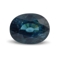 Blue Zircon - 4.45 ct