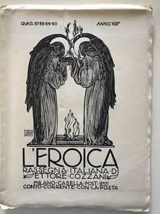 L'Eroica issues from 87 to 90 year 1924 of the collection Fondo Ettore Cozzani