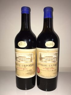 "1953 Chateau La Pointe ""Grand Cru""  Pomerol 2' Paul Delahoutre' 2 bottles in total."