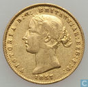 Australië ½ sovereign 1857