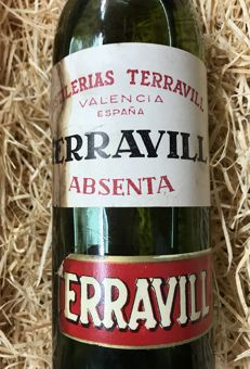 Absenta Terravill - principios siglo XX - 1 liter- ( 70% to 90% Alcohol by Volume)