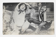 Photo; Set of 5 original pictures of a pornographic bondage session-ca. 1910