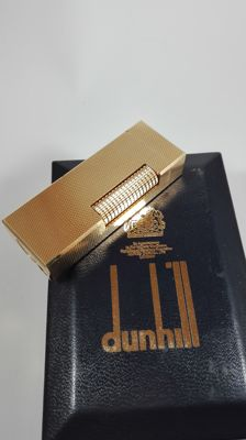 Dunhill Lighter, gold plated - Swiss made