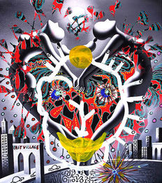 Mark Kostabi  - Kostabi, Paul - Esposito, Tony - Implosion