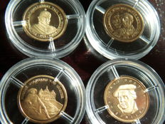 Germany – 4 gold medallions 1992