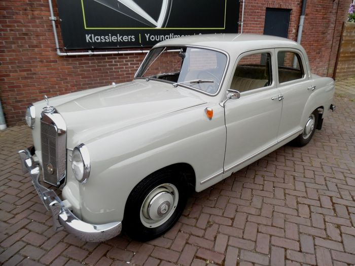 Mercedes benz w120 ponton 180 b 1st series 1955 for B series mercedes benz