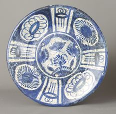 An Early Maiolica dish, Harlingen, Friesland, Early 17th century