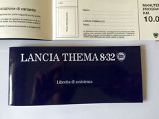 Inspection booklet - Lancia Thema 8.32 Ferrari