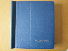 Federal Republic of Germany 1949/1988 – collection in two lighthouse clamp albums and 76 pages of pre-printed sheets, postal stamps and blocks