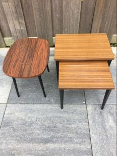 Vaza Roden (among other things) - Vintage side tables