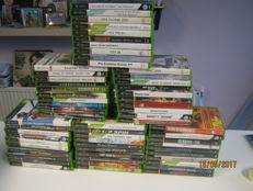 60 originele Xbox games. 2x Lord off the rings, GTA, Max Paine, Hitman, Ninja Gaiden,Brute force and more.