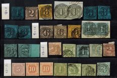 Germany 1852 / 1866 - Old Germany Thurn und Taxis – collection