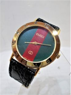Gucci – Women's watch – crocodile strap