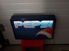 Advertising light box Pepsi Cola - 1980s