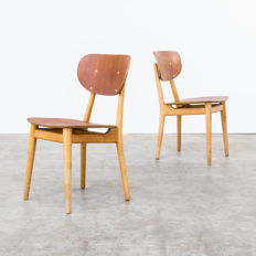 Cees Braakman for Pastoe – 2 chairs, model 'SB13'