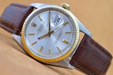ROLEX OYSTER PERPETUAL DATEJUST - mens watch - 1977