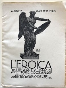 L'Eroica Issues from  97 to 100 1926 of the Collection Fondo Ettore Cozzani