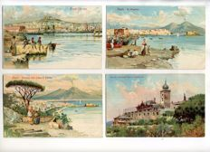 Italy 1900- 1960 City and village views; 124x