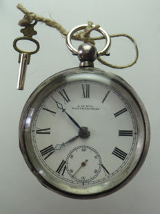 Waltham – Men's pocket watch – Late 19th century