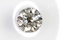 Brilliant cut diamond, 0.31 ct H/vS2