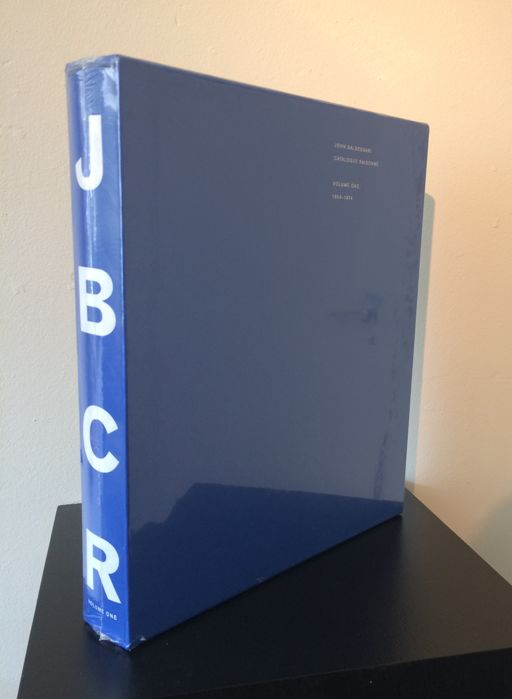 John Baldessari, Catalogue Raisonné, Volume I: 1956-1974 - 2012