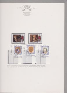 Vatican - 1966-1992 - collection mounted in 2 albums