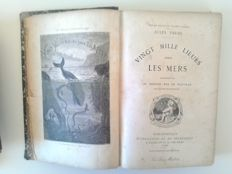 Lot of 3 books of French literature - 1857/1922