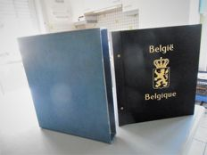 Belgium 1980/2001 – collection in Davo album with blocks and booklets