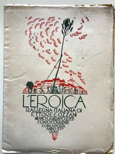 L'Eroica Issue 104 year 1927 of the Collection Fondo Ettore Cozzani