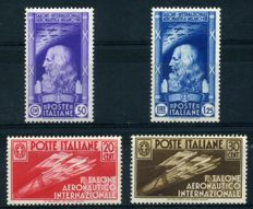 Kingdom of Italy - An interesting selection of stamps in complete series.