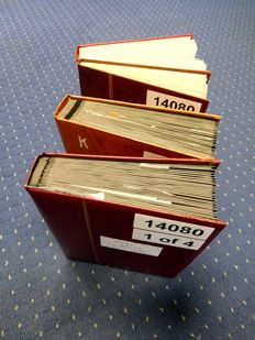Poland 1975/2008 – Collection in Four Thick Stock Books
