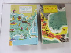 Lot with 26 volumes about world travel - 1960/1966