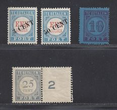 Netherlands 1870/1916 - Various postage stamps - NVPH P2, P27/P28 and P59